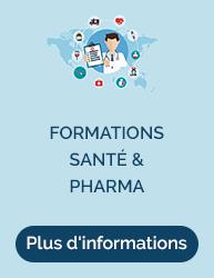 Cliquez ici pour vous rendre sur le site de notre gamme Formation Sante et Pharma